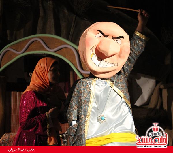تئاتر علی بابا و چهل دزد بغداد در رفسنجان-خانه خشتی۳