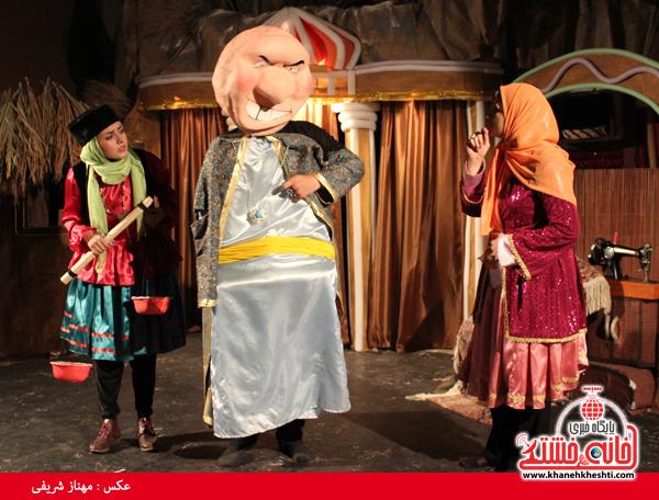 تئاتر علی بابا و چهل دزد بغداد در رفسنجان-خانه خشتی۵