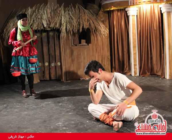 تئاتر علی بابا و چهل دزد بغداد در رفسنجان-خانه خشتی۷