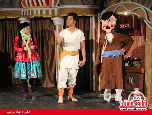 تئاتر علی بابا و چهل دزد بغداد در رفسنجان-خانه خشتی۸