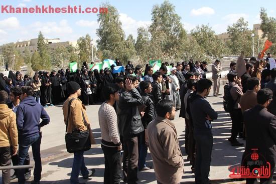 تجمع دانشجویان دانشگاه ولیعصر(عج) رفسنجان-خانه خشتی (۲۰)