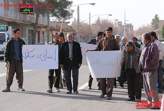تجمع کارگران رفسنجان-خانه خشتی