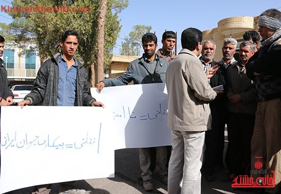 تجمع کارگران رفسنجان-خانه خشتی۲