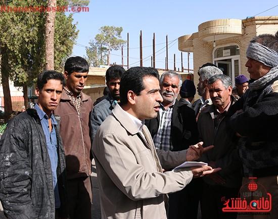 تجمع کارگران رفسنجان-خانه خشتی۳
