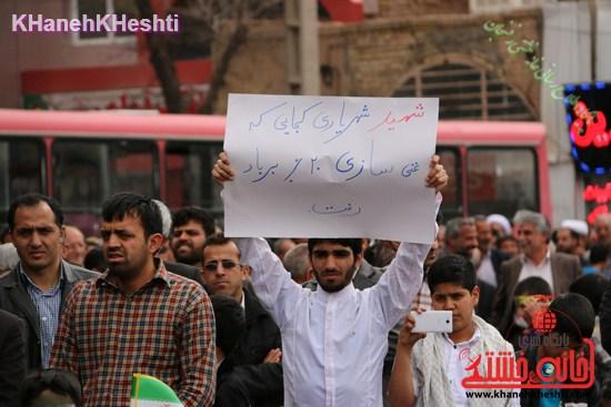 تصاویر دیدنی در یوم الله ۲۲ بهمن رفسنجان/از انرژی هسته ای تا استیضاح وزیر فرهنگ