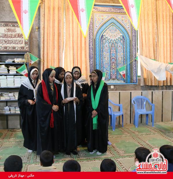 جشن انقلاب در ناصریه رفسنجان-خانه خشتی۹