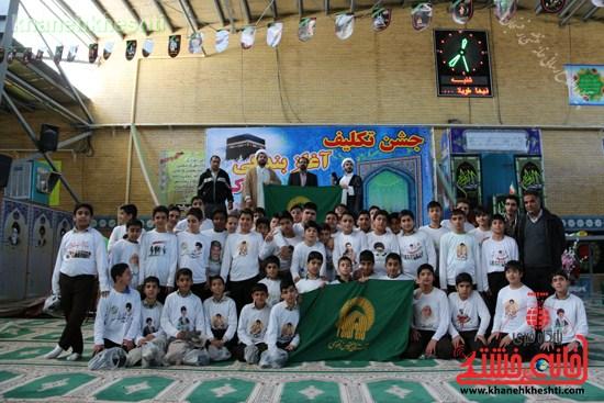 جشن تکلیف۲۰۰۰دانش آموزپسردررفسنجان (۱۶)