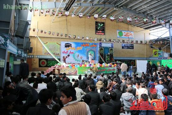 جشن تکلیف۲۰۰۰دانش آموزپسردررفسنجان (۲)