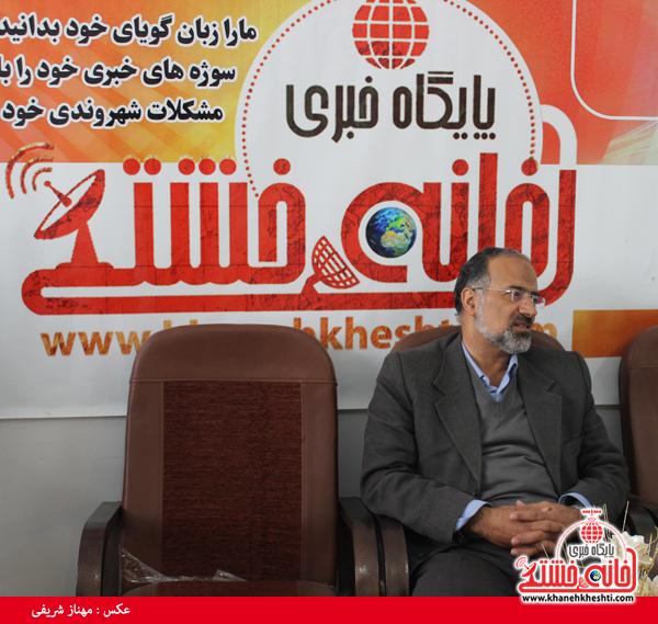 دکتر آذین نماینده مردم رفسنجان و انار در مجلس شورای اسلامی - خانه خشتی۲