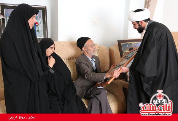 دیدار با خانواده شهدای روستای قاسم آباد رفسنجان(خانه خشتی)۴۴