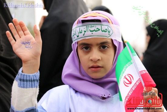 راهپیمایی سربازان کوچک انقلاب اسلامی در رفسنجان دهه فجر۹۳ (۱۳)