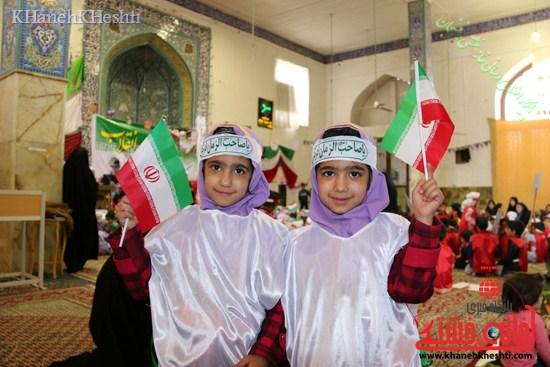 راهپیمایی سربازان کوچک انقلاب اسلامی در رفسنجان دهه فجر۹۳ (۱۷)