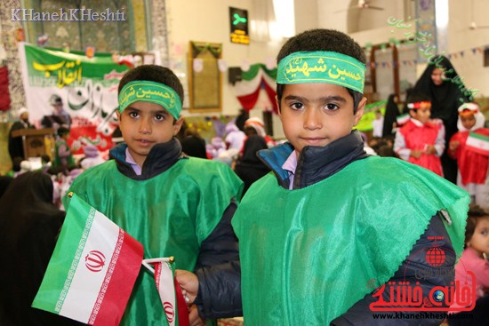 راهپیمایی سربازان کوچک انقلاب اسلامی در رفسنجان دهه فجر۹۳ (۱۸)