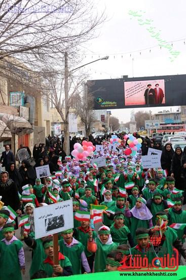 راهپیمایی سربازان کوچک انقلاب اسلامی در رفسنجان دهه فجر۹۳ (۶)
