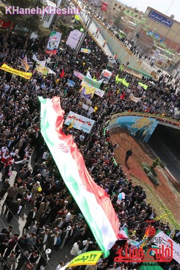 راهپیمایی ۲۲ بهمن در رفسنجان ۲۲ بهمن۹۳ رفسنجان راهپیمایی (۱۷)