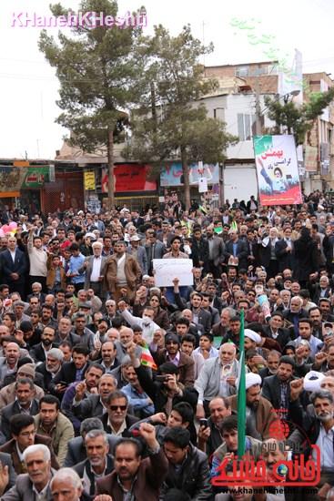 راهپیمایی ۲۲ بهمن در رفسنجان ۲۲ بهمن۹۳ رفسنجان راهپیمایی (۲۵)