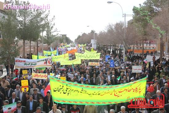 راهپیمایی ۲۲ بهمن در رفسنجان ۲۲ بهمن۹۳ رفسنجان راهپیمایی (۶)