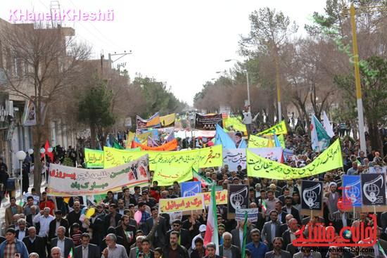 راهپیمایی ۲۲ بهمن در رفسنجان ۲۲ بهمن۹۳ رفسنجان راهپیمایی (۷)