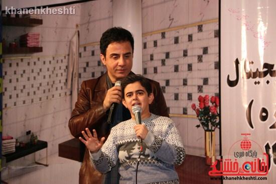 عمو پورنگ و امیر محمد به رفسنجان آمدند +عکس