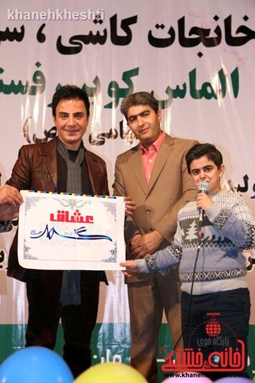 عمو پورنگ و امیر محمد به  کمپین عشاق محمد(ص) پیوستند رفسنجان