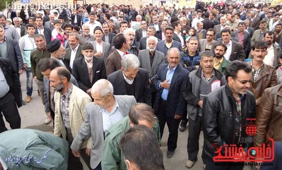 لحظات ناب حضور مردم کشکوئیه در راهپیمایی یوم الله ۲۲ بهمن + عکس (۴)