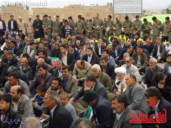 لحظات ناب حضور مردم کشکوئیه در راهپیمایی یوم الله ۲۲ بهمن + عکس (۵)