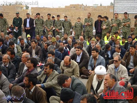 لحظات ناب حضور مردم کشکوئیه در راهپیمایی یوم الله ۲۲ بهمن + عکس (۷)