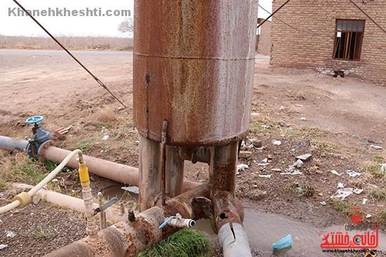 شبکه های آبرسانی روستایی رفسنجان اصلاح می شود