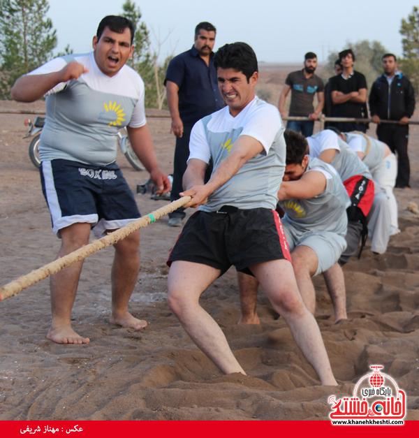 مسابقات طناب کشی روستای عرب آباد شهدای رفسنجان(خانه خشتی)۱۰