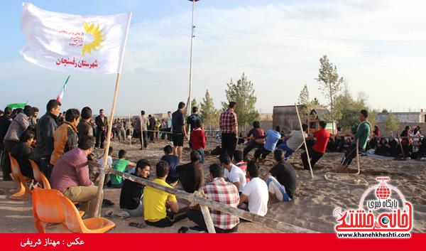 مسابقات طناب کشی روستای عرب آباد شهدای رفسنجان(خانه خشتی)۱۲