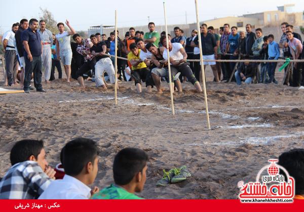 مسابقات طناب کشی روستای عرب آباد شهدای رفسنجان(خانه خشتی)۱۴