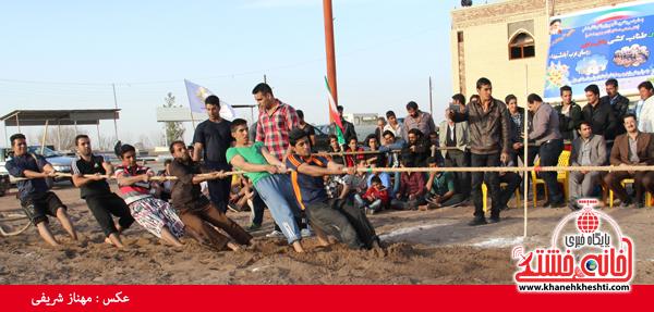 مسابقات طناب کشی روستای عرب آباد شهدای رفسنجان(خانه خشتی)۱۵
