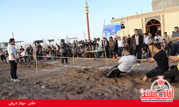 مسابقات طناب کشی روستای عرب آباد شهدای رفسنجان(خانه خشتی)۲۱