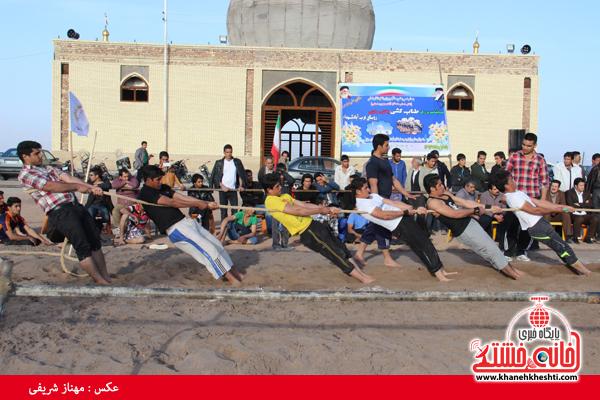 مسابقات طناب کشی روستای عرب آباد شهدای رفسنجان(خانه خشتی)۲۲