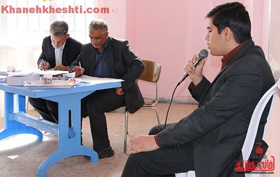 سی و سومین دوره مسابقات قرآن و معارف اسلامی در رفسنجان برگزار شد