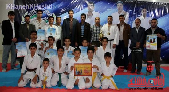 مسابقه کاراته سبک شوتوکانskiرفسنجان (۱۳)