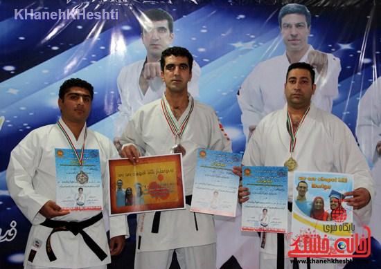 مسابقه کاراته سبک شوتوکانskiرفسنجان (۱۴)