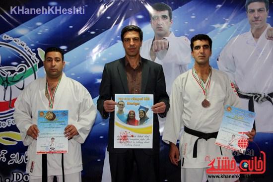 مسابقه کاراته سبک شوتوکانskiرفسنجان (۱۵)