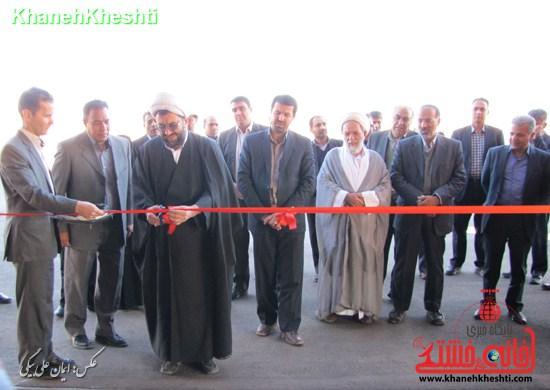 افتتاح کارخانه تولید لوله پلی اتیلن و تولید کود شیمیایی + عکس
