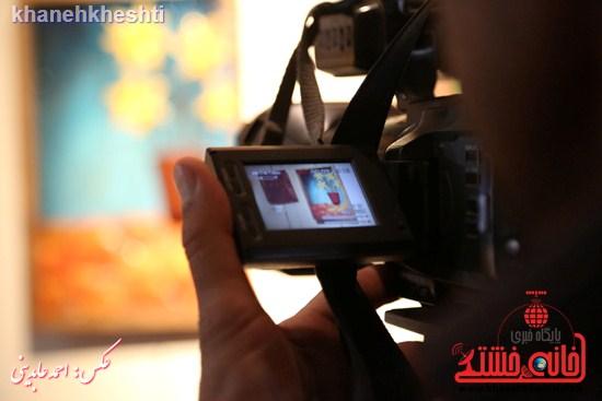 نقاشی گروهی روی سفال نگارخانه فرهنگ رفسنجان (۱۰)