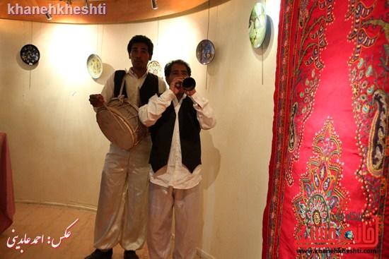 نقاشی گروهی روی سفال نگارخانه فرهنگ رفسنجان (۶)