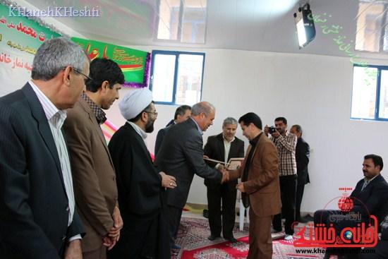 نمازخانه محمد رسول الله (ص) افتتاح شد رفسنجان (۷)