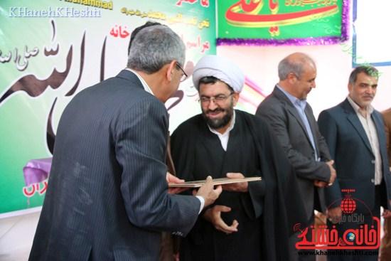 نمازخانه محمد رسول الله (ص) افتتاح شد رفسنجان (۸)