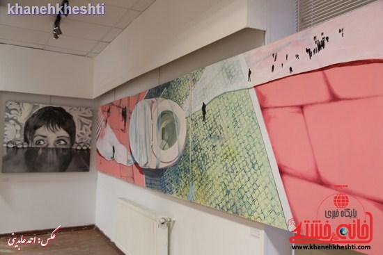 نمایشگاه  از فاصله ها۲  در رفسنجان (۲)