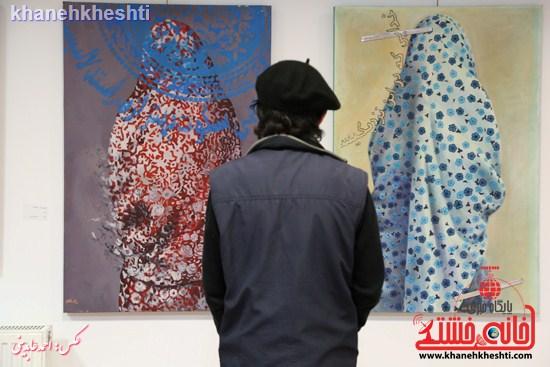 نمایشگاه  از فاصله ها۲  در رفسنجان (۳)