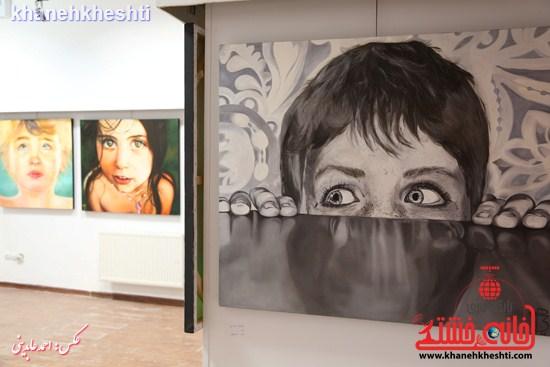 """نمایشگاه """" از فاصله ها۲ """" در رفسنجان + عکس"""