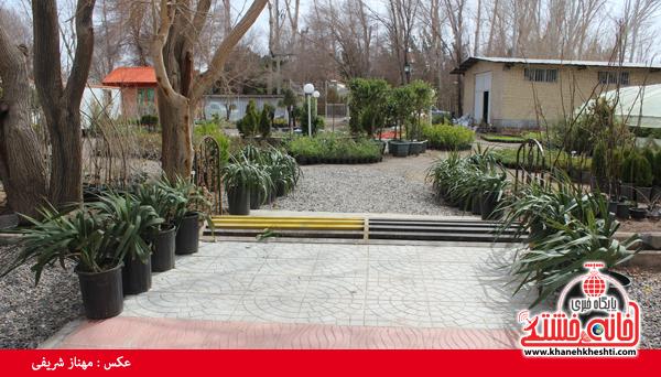 نمایشگاه بهاره گل و گیاه رفسنجان-خانه خشتی۱