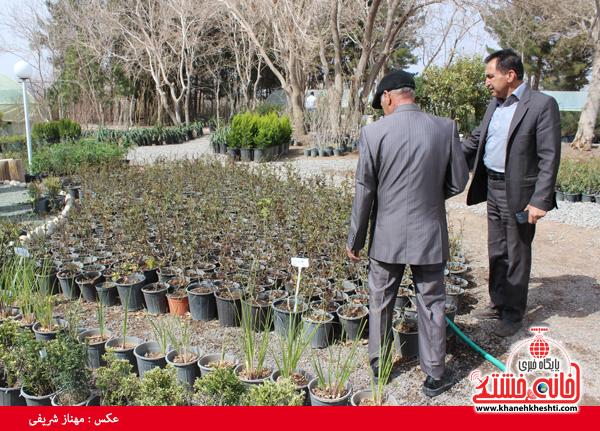 نمایشگاه بهاره گل و گیاه رفسنجان-خانه خشتی۱۴