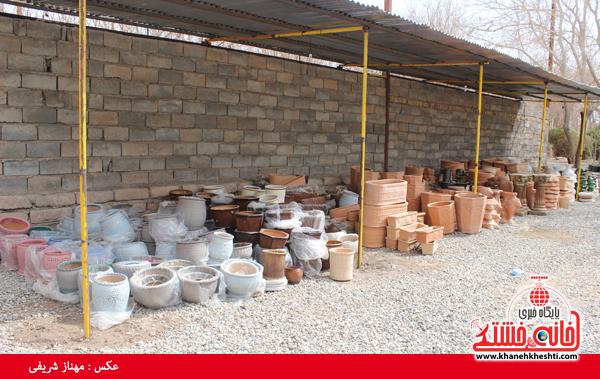 نمایشگاه بهاره گل و گیاه رفسنجان-خانه خشتی۵