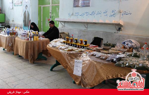 نمایشگاه صنایع دستی در رفسنجان-خانه خشتی۱